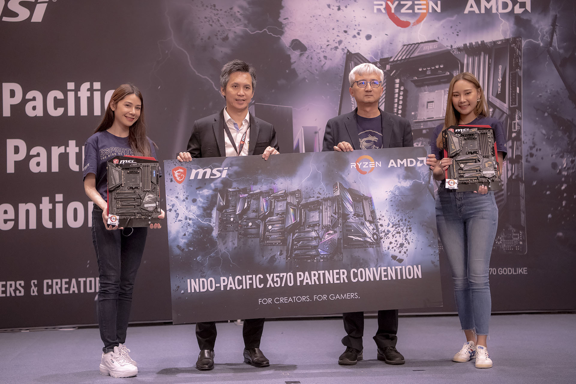 dsc 4899 บรรยากาศงาน MSI Indo Pacific X570 Partner Convention พบการเปิดตัวเมนบอร์ด X570 รุ่นใหม่ล่าสุดจากทาง MSI ต้อนรับการมาของซีพียู AMD RYZEN 3000ซีรี่ย์