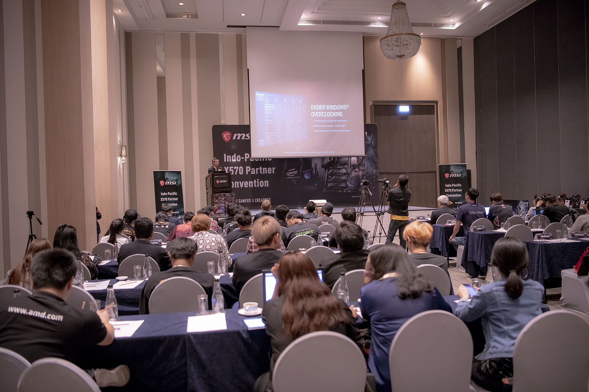 dsc 4926 บรรยากาศงาน MSI Indo Pacific X570 Partner Convention พบการเปิดตัวเมนบอร์ด X570 รุ่นใหม่ล่าสุดจากทาง MSI ต้อนรับการมาของซีพียู AMD RYZEN 3000ซีรี่ย์