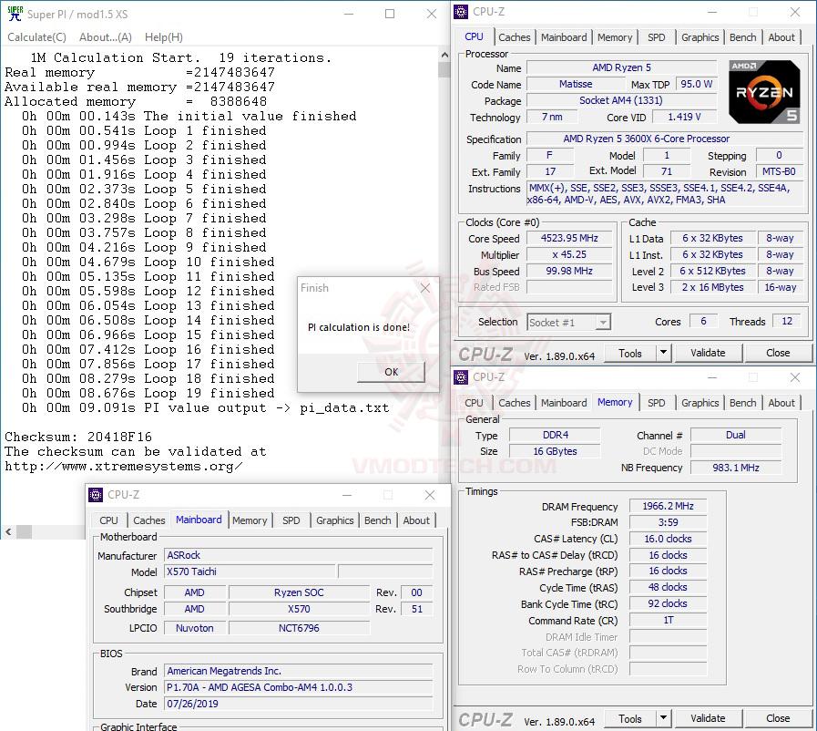 s1 oc ASRock X570 Taichi Review