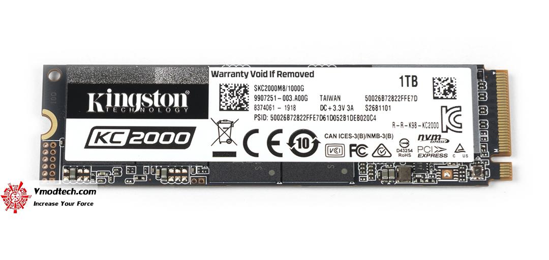 tpp 6090 KINGSTON SSD KC2000 1TB Review