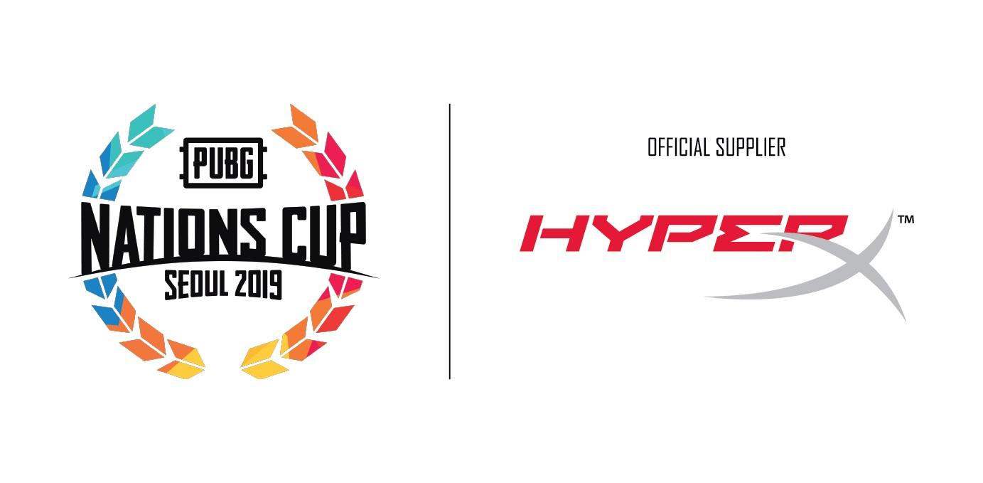 HyperX ประกาศการเป็นผู้สนับสนุน PUBG Nation Cup อย่างเป็นทางการ