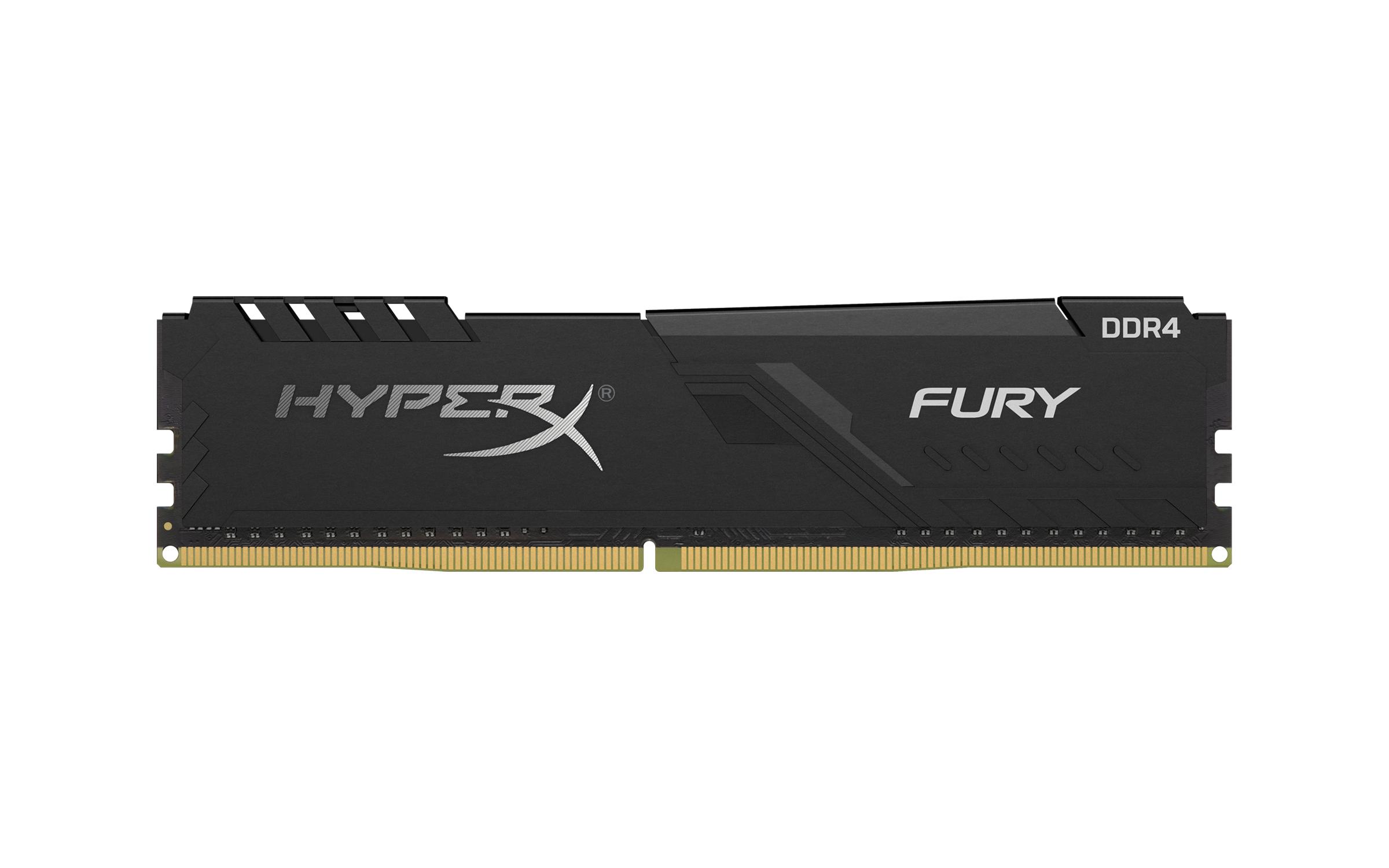 hyperx fury ddr4 HyperX ขยายไลน์ผลิตภัณฑ์หน่วยความจำ DDR4 FURY RGB