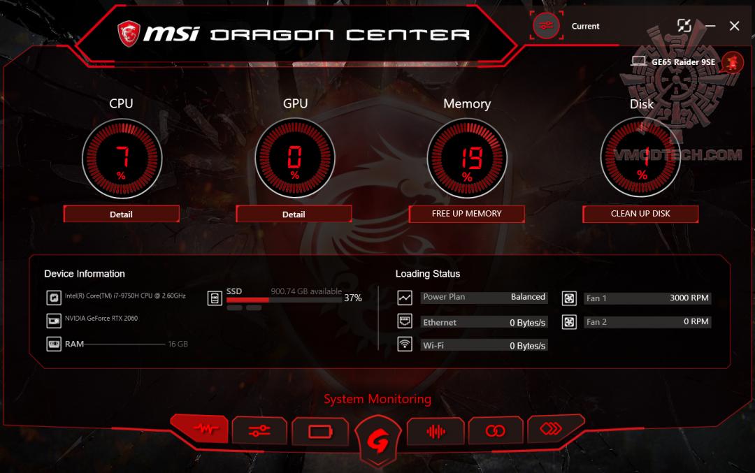 dragon1 MSI GE65 Raider 9SE Review