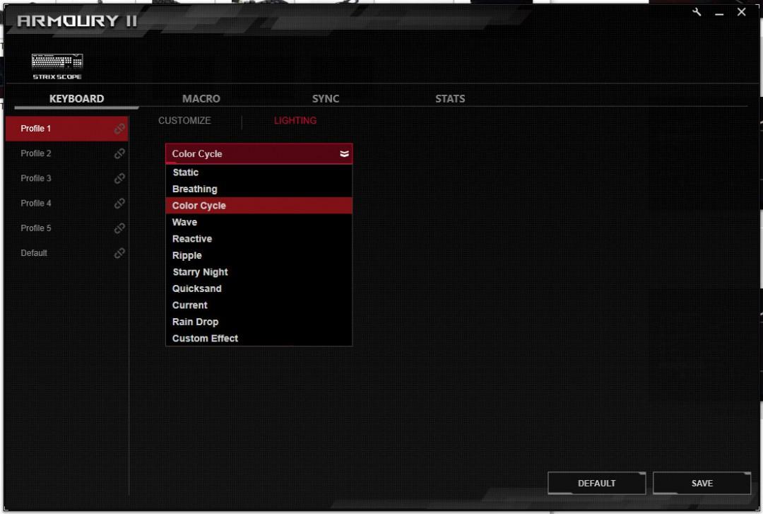 หน้าที่ 1 - ASUS ROG STRIX SCOPE Mechanical Gaming Keyboard