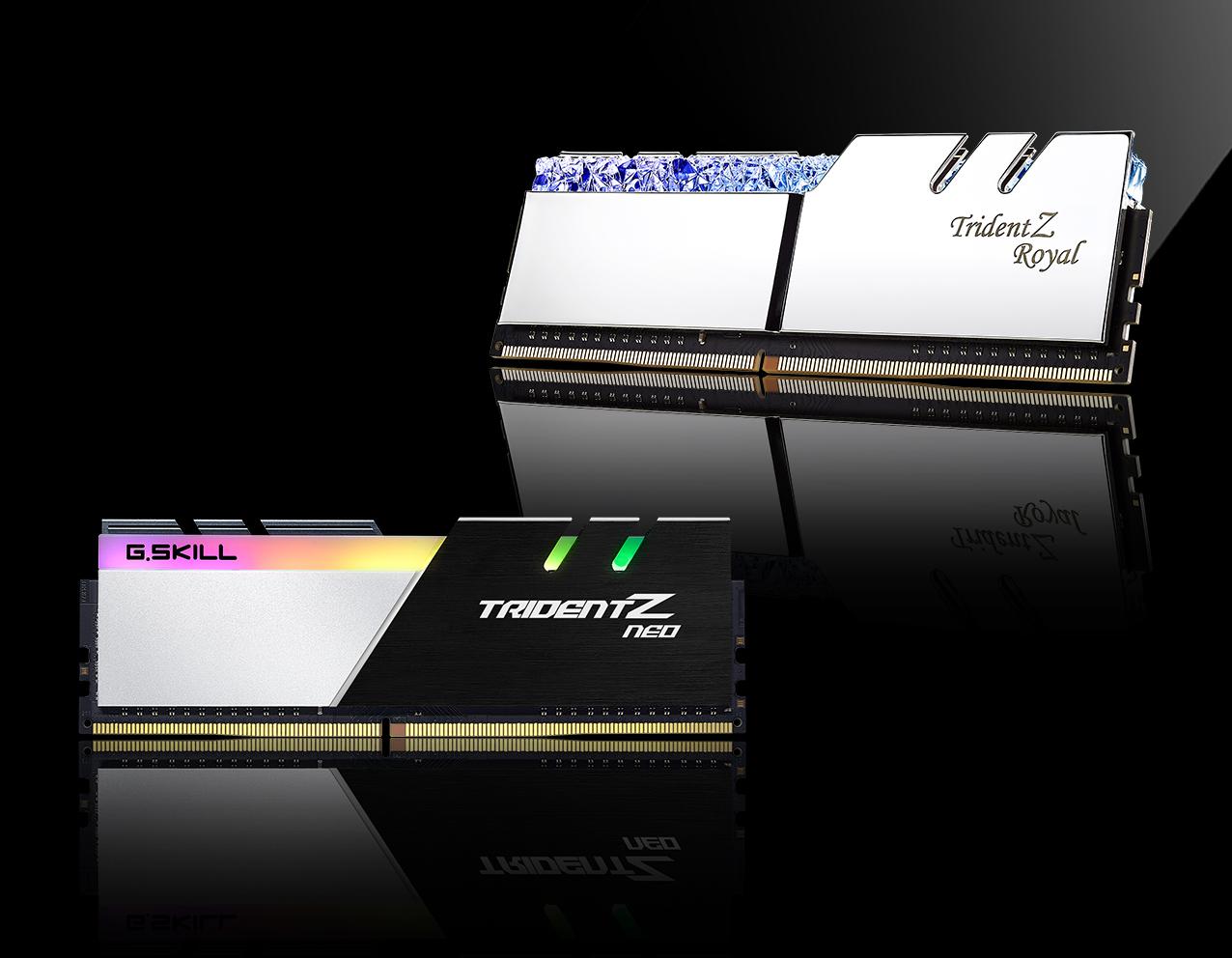 G.SKILL เปิดตัวแรม G.SKILL Trident Z Royal DDR4-3200 CL16 256GB รุ่นใหม่ล่าสุดและอีก 3รุ่นประสิทธิภาพสูงให้เลือกใช้งาน