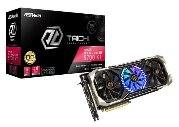 ASRock Radeon RX 5700 XT Taichi X 8G OC+ รีดเฟรมเรตให้ทะลุขีดจำกัด ปรับแต่งได้ ระบายความร้อน 3 พัดลม