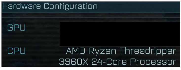 2019 10 18 19 46 13 หลุดข้อมูลซีพียู AMD Ryzen Threadripper 3960X ปรากฏในฐานข้อมูลเกมส์ AoTS กับสเปกจำนวนคอร์ 24C/48T อัตราการบริโภคไฟ 280W TDP