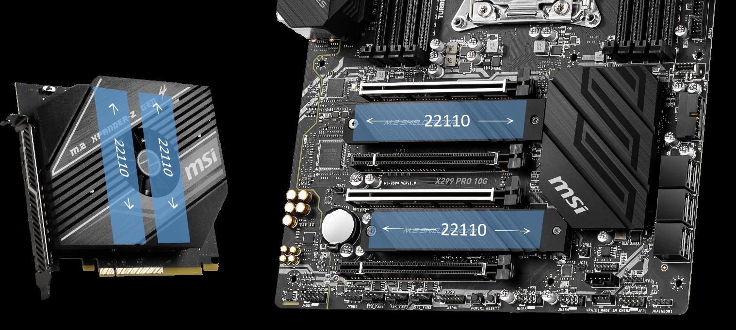 07 โปรเฟรชั่นนอลกว่าด้วยเมนบอร์ดสายครีเอเตอร์ MSI CREATOR X299 คู่กับ CPU INTEL CORE X SERIES รุ่นใหม่ แรงสุด!!
