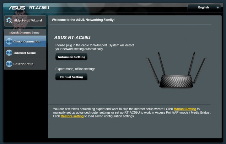 1 720x461 ASUS RT AC 59U   AC1500 Dual Band WiFi Router Review