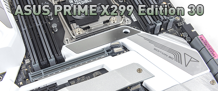 main1 ASUS PRIME X299 Edition 30 Review