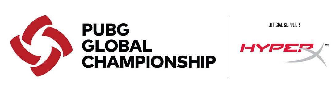 HyperX ประกาศการสนับสนุนการแข่งขัน PUBG Global Championship 2019 อย่างเป็นทางการ