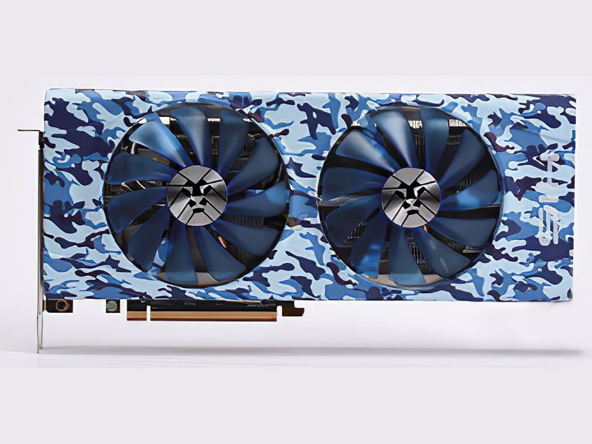 his radeon rx 5700 blue army 4 HIS เปิดตัวการ์ดจอลายพรางสุดมุ้งมิ้งสวยงามในรุ่น Radeon RX 5700 XT ARMY