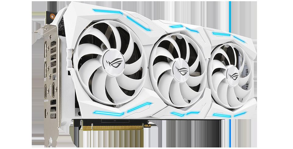 axial tech เอซุสเปิดตัวการ์ดจอ ASUS GeForce RTX 2080 SUPER STRIX Snow White Edition รุ่นใหม่ล่าสุด