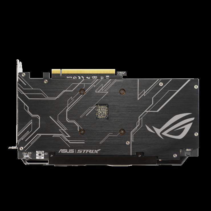 rog strix gtx1650 d6 2d back 2 740x740 เอซุสเปิดตัวการ์ดจอ ASUS GeForce GTX 1650 D6 ซีรี่ย์ที่มาพร้อมแรม GDDR6 ในรุ่น ROG Strix และ TUF Gaming รุ่นใหม่ล่าสุด