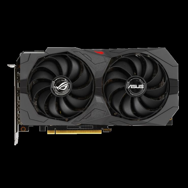 rog strix gtx1650 d6 2d light 2 740x740 เอซุสเปิดตัวการ์ดจอ ASUS GeForce GTX 1650 D6 ซีรี่ย์ที่มาพร้อมแรม GDDR6 ในรุ่น ROG Strix และ TUF Gaming รุ่นใหม่ล่าสุด