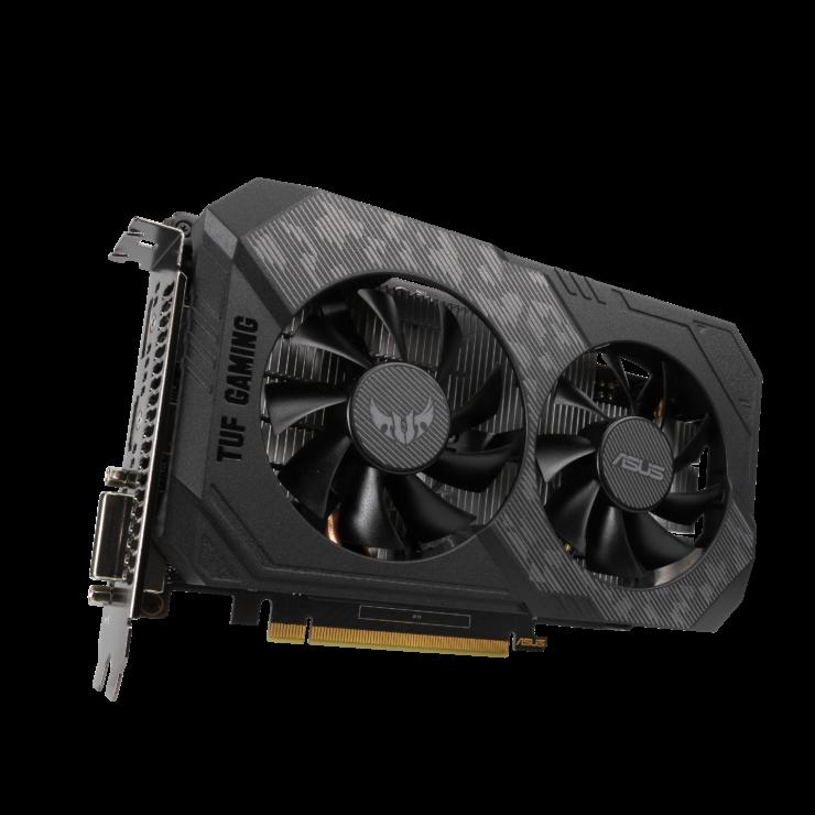 tuf gtx1650 4gd6 image1 1 740x740 เอซุสเปิดตัวการ์ดจอ ASUS GeForce GTX 1650 D6 ซีรี่ย์ที่มาพร้อมแรม GDDR6 ในรุ่น ROG Strix และ TUF Gaming รุ่นใหม่ล่าสุด