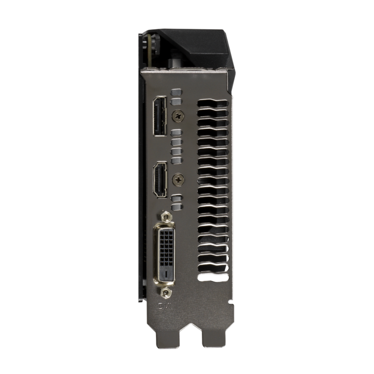 tuf gtx1650 4gd6 io 740x740 เอซุสเปิดตัวการ์ดจอ ASUS GeForce GTX 1650 D6 ซีรี่ย์ที่มาพร้อมแรม GDDR6 ในรุ่น ROG Strix และ TUF Gaming รุ่นใหม่ล่าสุด