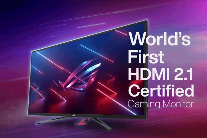 ASUS เปิดตัวจอเกมส์มิ่งรุ่นแรกของโลกที่รองรับ HDMI 2.1-Certified มาพร้อมความละเอียด 4K 120Hz ขนาดหน้าจอ27 ,32 และ 43นิ้ว เพื่อคอเกมส์เมอร์โดยเฉพาะ