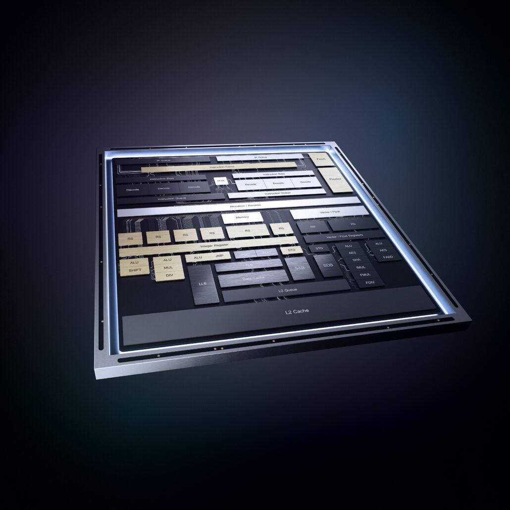 intel tremont atom cpu 1030x1030 ลือ!! พบข้อมูลซีพียู Intel Jasper Lake ในรุ่น Pentium และ Celeron ในซีรี่ย์ Atom ที่ใช้สถาปัตย์ Tremont ขนาด 10nm รุ่นต่อไปคาดจะเปิดตัวในต้นปี 2021