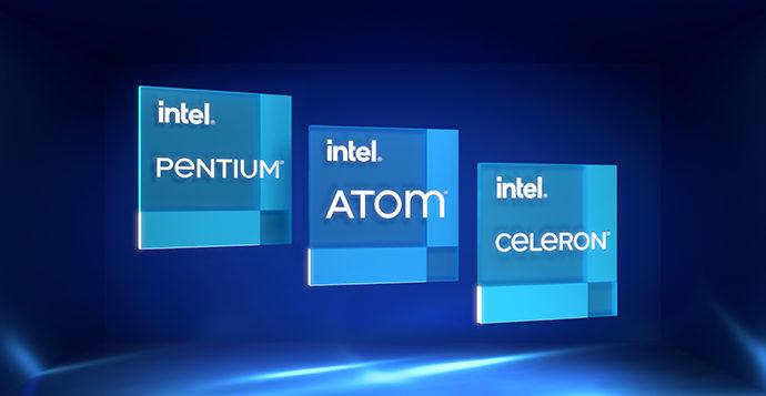 intel atom pentium celeron badges e1600867143570 Intel ประกาศเปิดตัวซีพียู Intel Atom x6000E ในรหัส Elkhart Lake และ Intel Pentium และ Celeron N และ J Series ในรหัส Tiger Lake ที่เน้นใช้งานใน AI, Security
