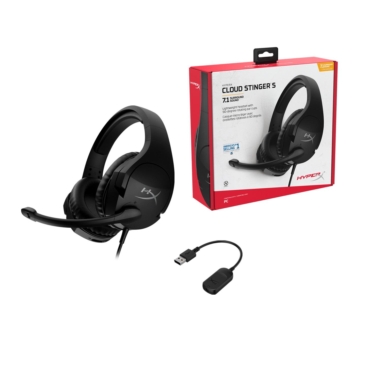 stinger s 3 HyperX ขยายกลุ่มผลิตภัณฑ์เสียง ทั้งหูฟังไร้สาย Cloud Buds รุ่นใหม่ และหูฟังที่ได้รับรางวัล Cloud Stinger S