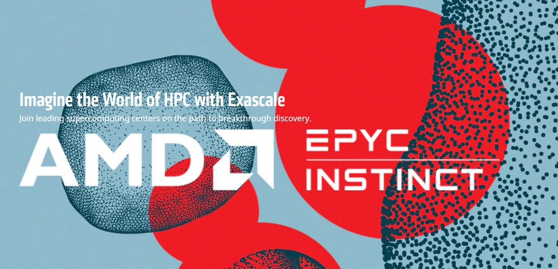 โปรเซสเซอร์ AMD EPYC™ และกราฟิกการ์ดใหม่ AMD Instinct™ MI100 นิยามใหม่ของประสิทธิภาพสำหรับการประมวลผลประสิทธิภาพสูง และการวิจัยทางวิทยาศาสตร์