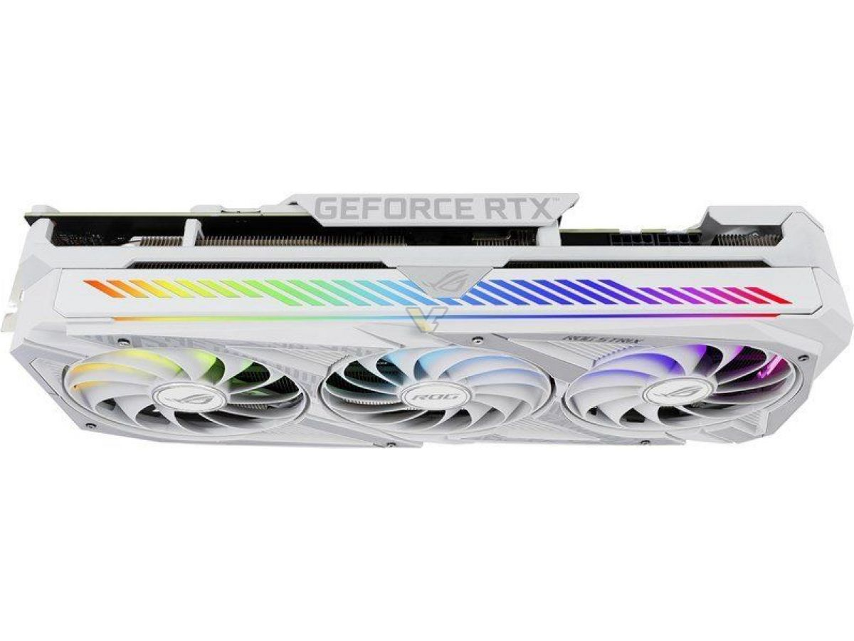 asus geforce rtx 3070 8gb rog strix white oc6 เอซุสเปิดตัวการ์ดจอ ASUS RTX 3090 ROG STRIX White OC , RTX 3080 และ RTX 3070 ทั้งหมด 3รุ่นใหม่ล่าสุด