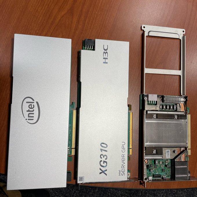 eovx5w3u8aupzuc Raja Koduri เผยภาพการ์ดจอ Intel XG310 พร้อมบอกเป็นยุคทองของการ์ดจอ Intel Xe HP ในงาน Data Center ในปี 2021