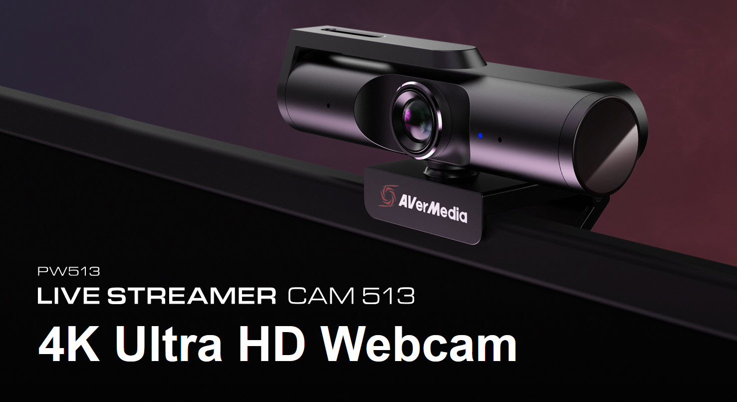 2020 12 23 15 50 38 AVerMedia เปิดตัว Live Streamer CAM 513 กล้องเว็บแคมความละเอียด 4k UHD มาพร้อมเลนส์มุมกว้างและซอฟต์แวร์ถ่ายภาพ Camengine สุดล้ำ