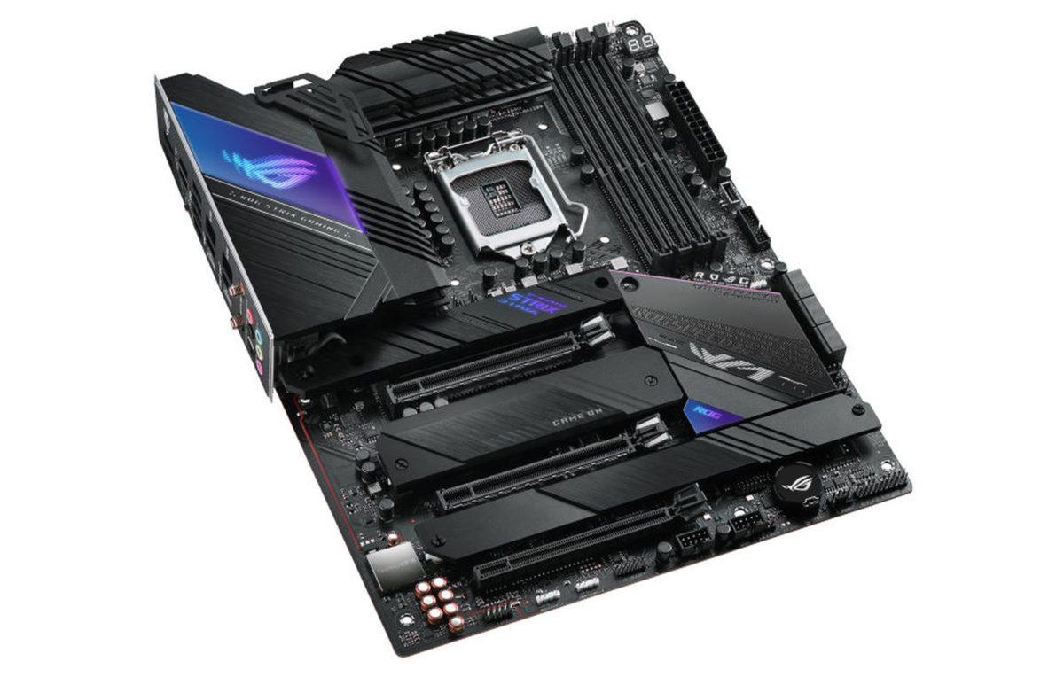 the rog strix z590 e gaming videocardz 1200x764 เอซุสเปิดตัวเมนบอร์ด Z590 รุ่นใหม่ล่าสุด 5รุ่น ASUS ROG Maximus XIII, ROG Strix, TUF Gaming, และ Prime พร้อมวางจำหน่ายเร็วๆนี้
