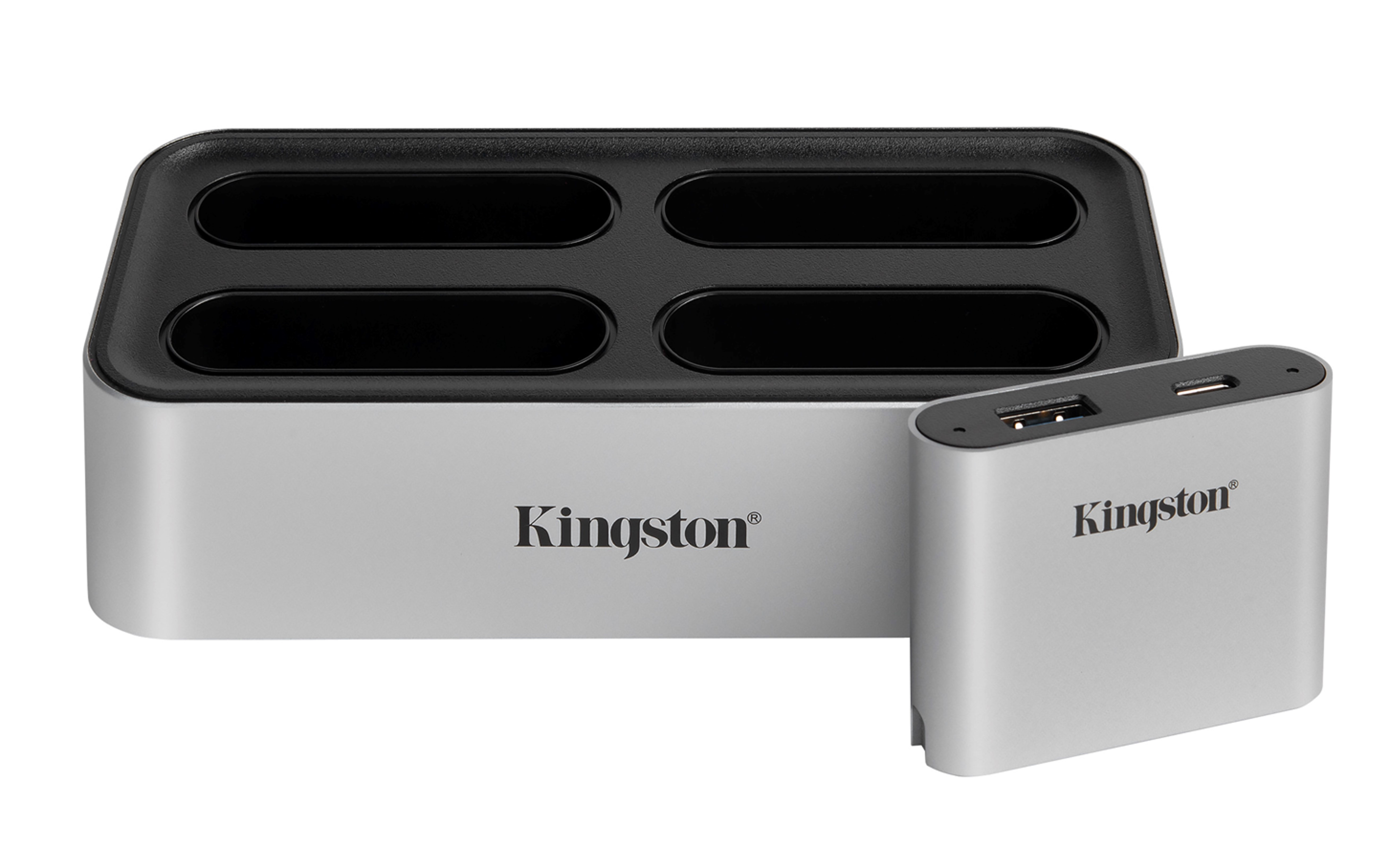 ces workflow station Kingston ปล่อยตัวอย่างไลน์ผลิตภัณฑ์ SSD NVMe รุ่นใหม่ และเปิดตัว Kingston Workflow Station พร้อม Readers