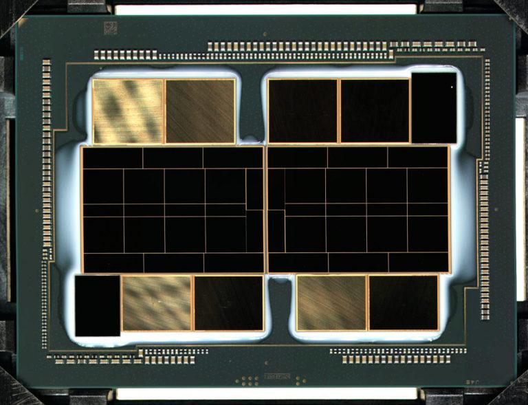 intel xe hpc die 768x589 Intel ผู้บริหาร Raja Koduri เผยภาพแรกของชิป DIE การ์ดจอ Intel Xe HPC รุ่นใหม่ล่าสุดที่ยังไม่เปิดตัวอย่างเป็นทางการ
