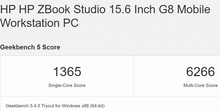 "intel core i9 11950h benchmark 768x387 หลุดซีพียู Intel Core i9 11950H ในรหัส ""Tiger Lake H"" รุ่นท็อปที่ใช้งานในแล็ปท็อป"