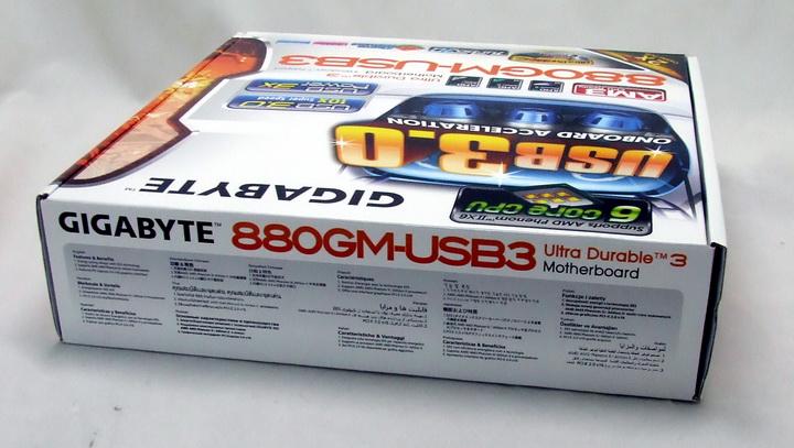 218 Gigabyte 880GM USB3 Review