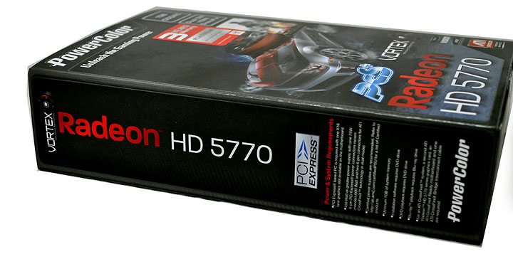 333 PowerColor Radeon HD5770 PCS+ VORTEX 1GB GDDR5 Review
