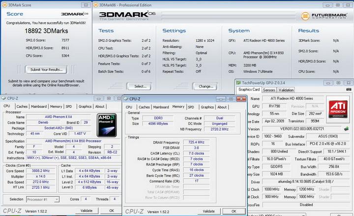 3dmark061 ASUS Crosshair III Formula Review