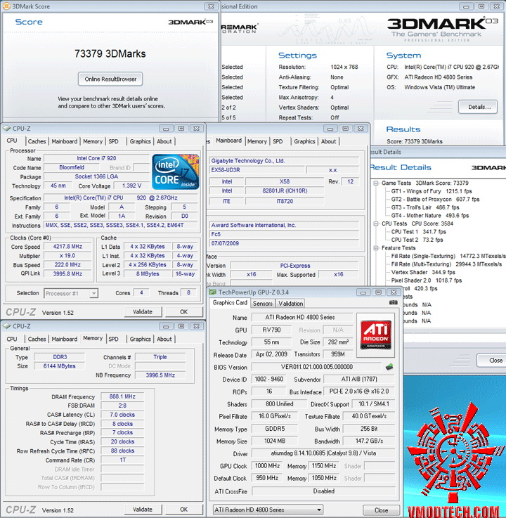 4890 3dmark03 oc PowerColor HD4890 PCS+