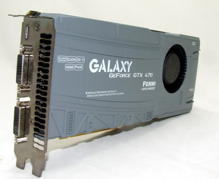 511 GALAXY GTX 470 1280MB SLI Review