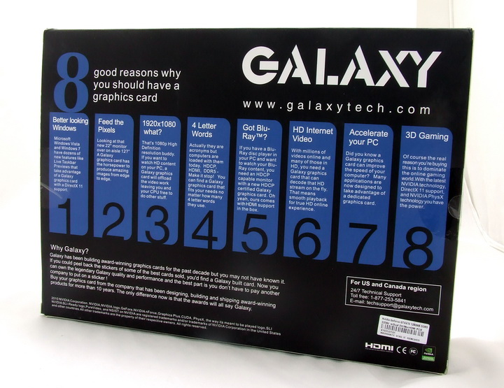 911 GALAXY GTX 470 1280MB SLI Review