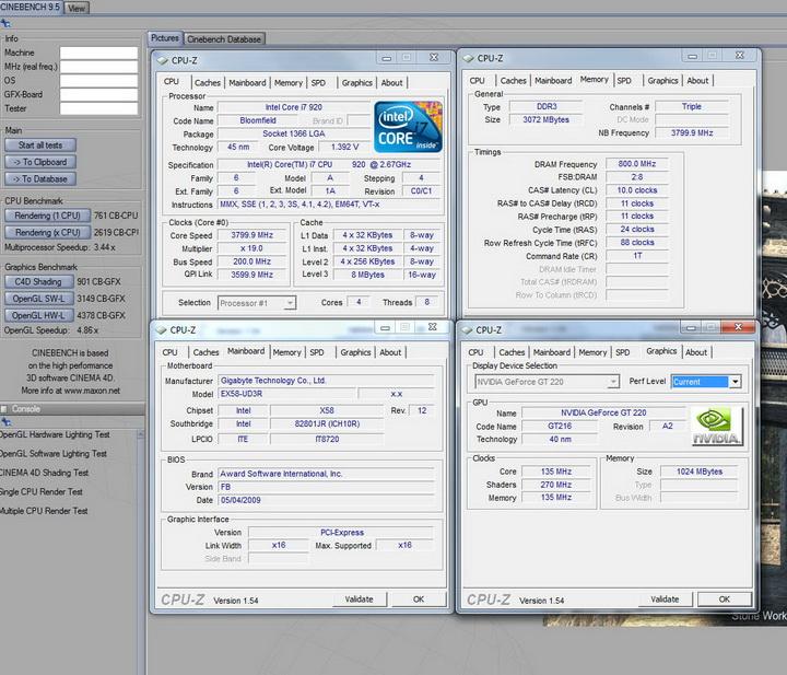 959 Palit GT220 DDR3 1024MB Review