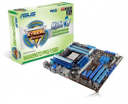asus m4a89gtd pro usb3 motherboard เมนบอร์ดอัสซุส M4 Series ให้คุณสัมผัสระบบประมวลผลแบบ 6 คอร์ ก่อนใคร