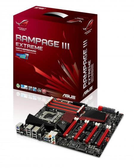 asus rampage iii extreme motherboard แนะนำผลิตภัณฑ์ใหม่ มาเธอร์บอร์ด ASUS Rampage III Extreme