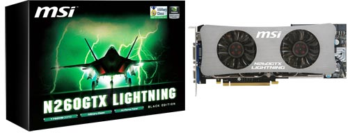260 lightning box MSI GTX260 Lightning Black Edition
