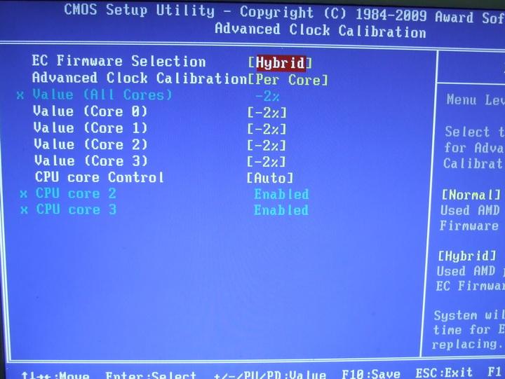dscf1839 AMD  Phenom II 545 @ 4 Cores !!!