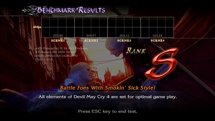 devilmaycry4 benchmark ASUS EAH5970 DDR5 Cool....