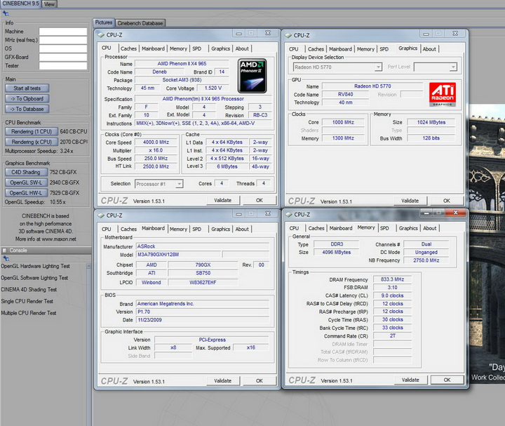 95 ASUS Radeon HD 5770 1GB Voltage Tweak Edition