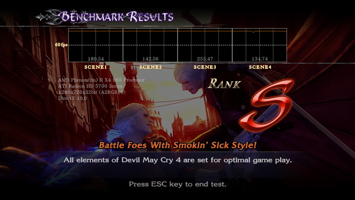 devilmaycry4 benchmark ASUS Radeon HD 5770 1GB Voltage Tweak Edition