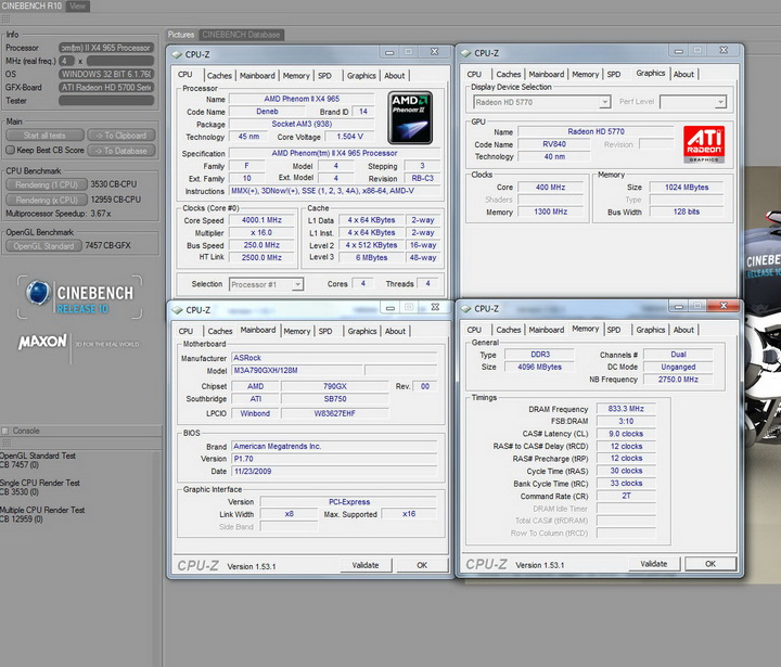r10 ASUS Radeon HD 5770 1GB Voltage Tweak Edition