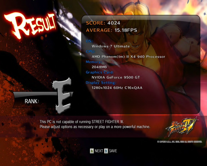 streetfighteriv benchmark 2010 01 05 10 13 02 09 ASUS Bravo 9500 : Review