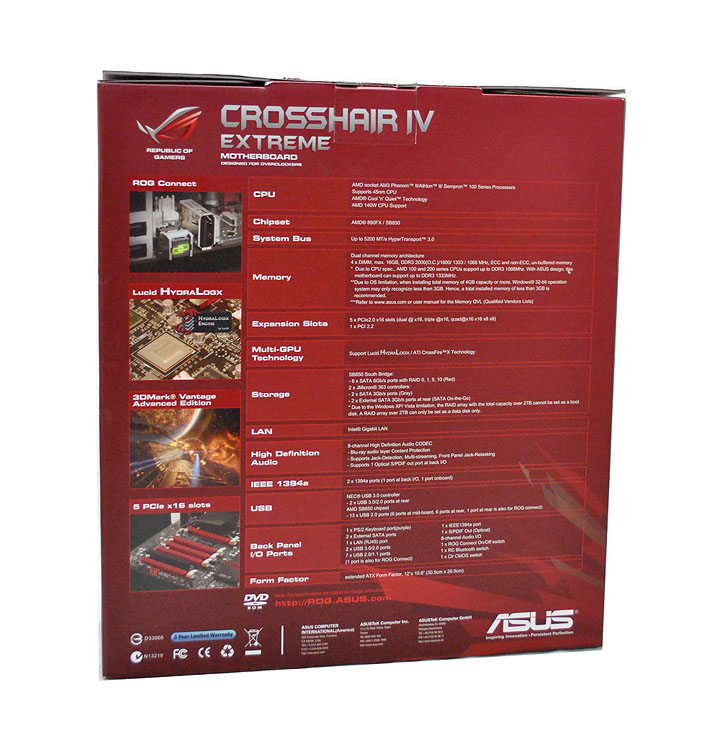 2 Asus Crosshair IV Extreme  Review